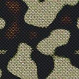 Schlange-Skala-nahtloses Muster-ausländische Rüstungs-Auslegung Stockfoto