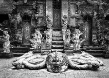 Schlangen-Gott Naga im hindischen Tempel Lizenzfreies Stockbild