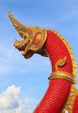 Schlangenkönig oder König von Naga Stockbild