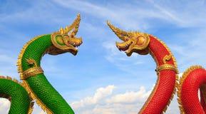 Schlangenkönig oder König von Naga Stockfotografie