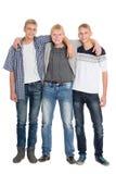 Schlanke junge Männer achtzehn Jahre Lizenzfreie Stockbilder