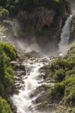 Schlatenbach瀑布 库存图片