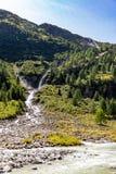 Schlatenbach-Wasserfall Lizenzfreies Stockbild