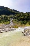 Schlatenbach waterfall Stock Photos
