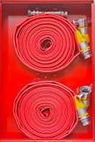 Schlauch des roten Feuers Lizenzfreie Stockfotografie