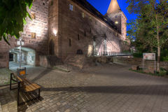 Schlayenturm At Night Stock Image
