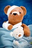 Schlecht Teddybär stockbilder