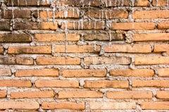 Schlecht Ziegelsteinwand-Baubeschaffenheitshintergrund lizenzfreies stockbild
