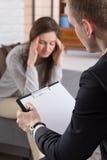 Schlechte Gedächtnisse können Kopfschmerzen verursachen Lizenzfreies Stockbild