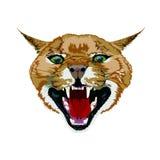 Schlechte Katze stock abbildung