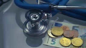 Schlechte Medizin EU - EUR stock video footage