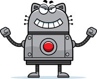 Schlechte Roboter-Katze Stockfoto