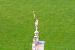 Schlechte Statue Muskau Muzakow des Ritters Stockfotografie