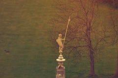 Schlechte Statue Muskau Muzakow des Ritters Stockbild