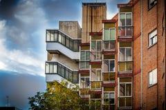 Schlechte Wohnungen Stockbilder