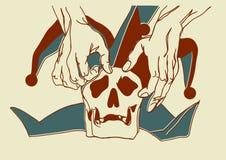 Schlechte Yorick-Farbe Lizenzfreies Stockfoto