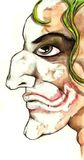 Schlechter Clown Lizenzfreies Stockfoto