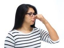 Schlechter Geruch lizenzfreies stockfoto