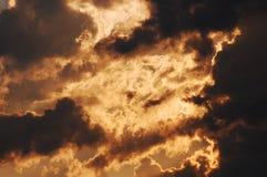 Schlechter Himmel Stockfotos
