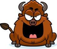 Schlechter Karikatur-Bison Stockfotos