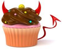 Schlechter kleiner Kuchen lizenzfreie abbildung
