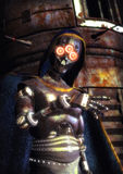 Schlechter Roboter Stockbild