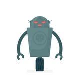 Schlechter Robotercharakter der Karikatur vektor abbildung