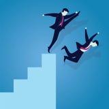 Schlechtes Geschäfts-Wettbewerbs-Konzept Stockfotos