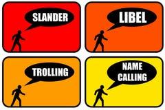 Schlechtes Verhalten lizenzfreie abbildung