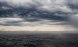 Schlechtes Wetter auf Ladoga See Stockfotografie