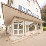 Schlecker fermé Photo stock