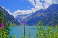 Schlegeis Reservoir Stock Photo