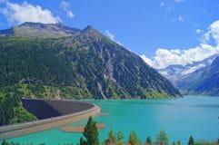Schlegeis Reservoir Royalty Free Stock Photo