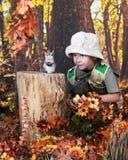 Schleichen oben auf Streifenhörnchen Lizenzfreie Stockbilder