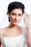 Schleier der Braut lizenzfreies stockfoto
