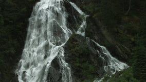 Schleierfall, Hohe Tauern, Austria almacen de metraje de vídeo
