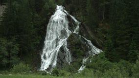 Schleierfall, Hohe Tauern, Austria almacen de video
