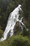 Schleierfall nell'alto parco nazionale di Tauern, Austria Fotografie Stock Libere da Diritti