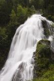Schleierfall in Tirol stock fotografie