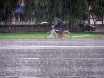 Schleife des Regens Lizenzfreies Stockbild