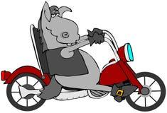 Schleife-Esel lizenzfreie abbildung