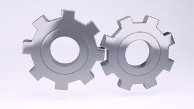 Schleife - Ganganimation Dieses ist eine 3D übertragene Abbildung lizenzfreie abbildung