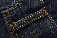 Schleife von Blue Jeans Stockbilder