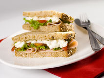 Schleifer-Sandwich stockfoto