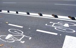 Schleifeweg in Barcelona Lizenzfreies Stockfoto