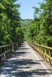Schleifeweg des Adige-Tales Lizenzfreie Stockbilder