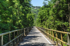 Schleifeweg des Adige-Tales lizenzfreie stockfotos