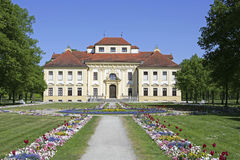 Schleissheim Schloss Lustheim, Мюнхен Стоковые Фото