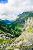 Schleppangelleiter bei Norwegen Stockbilder