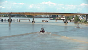 Schlepper Fraser River, Britisch-Columbia, Kanada 4K UHD stock footage